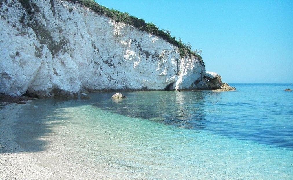 Padulella Beach, Elba Island. Italy.